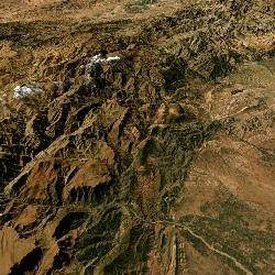 3D Atlas Mountains