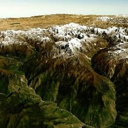 3D Himalaya Mountains