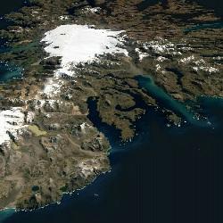 3D Kerguelen Island