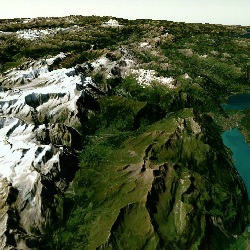 3D Swiss Alps