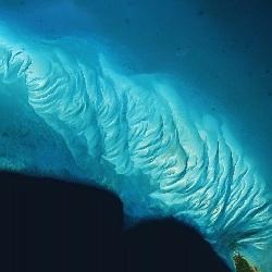 Sandbar west of Eleuthera Island, Bahamas (UTM/WGS84)