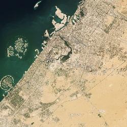 Dubai, United Arab Emirates (UTM/WGS84)