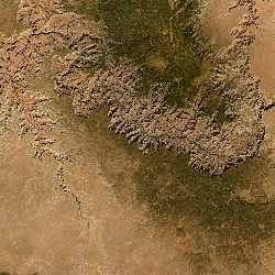 Grand Canyon, Arizona, US (UTM/WGS84)