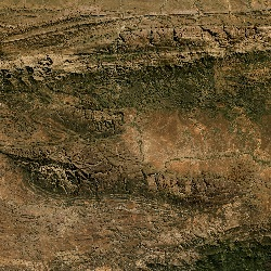 Great Escarpment, South Africa (UTM/WGS84)