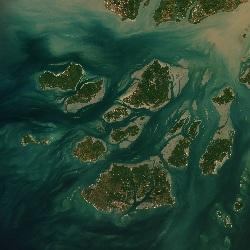 Bijagós Archipelago, Guinea-Bissau (UTM/WGS84)