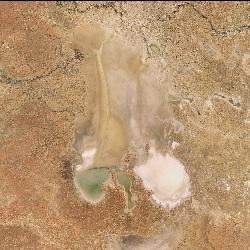 Lake Eyre, Australia (UTM/WGS84)