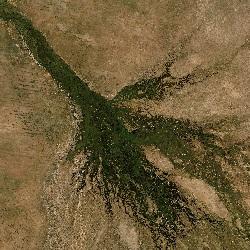 Okavango Delta, Botswana (UTM/WGS84)