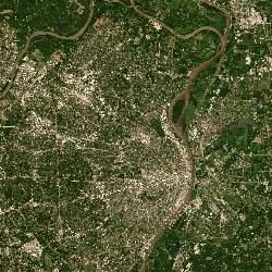 St. Louis, Missouri, US (UTM/WGS84)