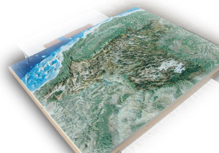 US Great Basin Solid Terrain Model