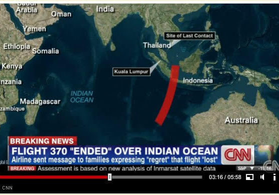 CNN Video Coverage of Malaysia Airlines